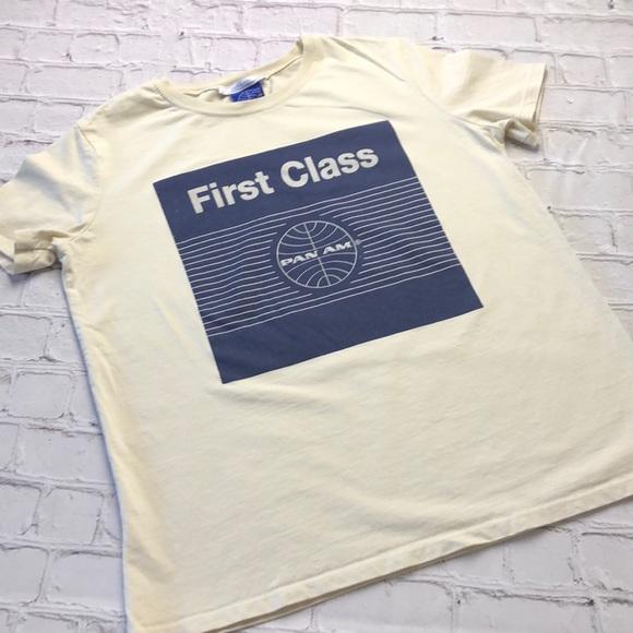 433483af8058 Zara Tops | Pan Am First Class T Shirt Size Small | Poshmark